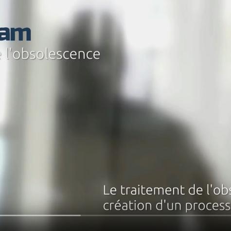 OBsam : process innovant pour le traitement de l''obsolescence - en vidéo